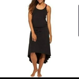 Calia Black High Low Dress #68